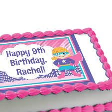 edible cake images girl power edible image cake decoration