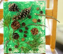 collaborative pine tree project for