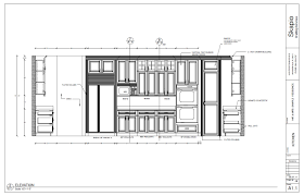 Kitchen Drawings Sample Kitchen Elevation Shop Drawings Pinterest Kitchens