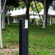 aluminum alloy outdoor led bollard lights garden path light