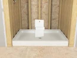Installing Basement Shower Drain by Installation Sterling Ensemble Advantage Or Intrigue Showers