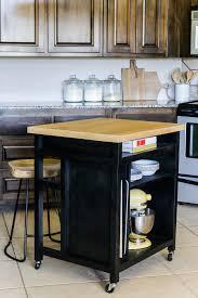 Ikea Rolling Kitchen Island 900jenwoodhouse Kitchenisland Bare Vertical02 Wheeled Kitchen