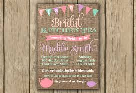 kitchen tea invitation ideas items similar to bridal shower invitation kitchen tea invite