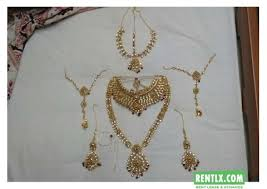 wedding jewellery for rent wedding rentlx india s most trusted rental portal