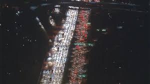 epic thanksgiving traffic gridlock in los angeles komo