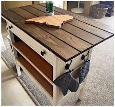 Kitchen Island With Bench Farmhouse Kitchen Island With Wheels Home Pinterest