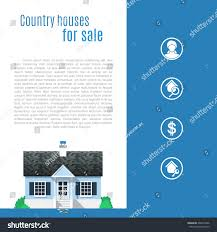 cape cod country house flat style stock vector 262814966