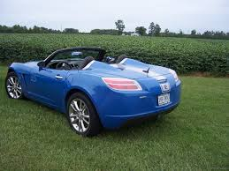 saturn sky red 2009 saturn sky red line hydro blue limited edition specifications