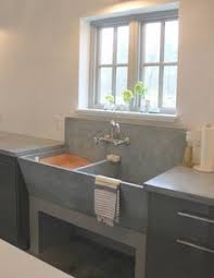 Even A Laundry Room Can Be A Suitable Place For Artful Displays - Utility sink backsplash