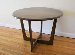 Rustic Round End Table Living Room Amazing Breck Distressed Side Table Blue Rustic Tables