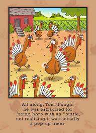 turkey pop up timer thanksgiving card cardstore