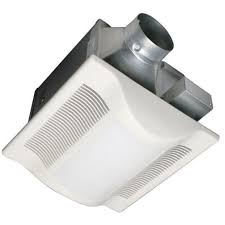 bathroom 70 cfm exhaust fan with heat lamp and light un dn