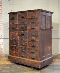 metal storage cabinet with drawers vintage storage cabinets rolling distressed apothecary wood storage