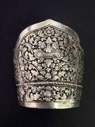 antique sterling silver cuff bracelet images Antique chinese sterling silver export cuff bracelet dragon pattern jpg