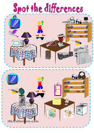 Spot The Differences Simple Machines And Gadgets Spot The