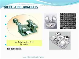 nickel free braces brackets