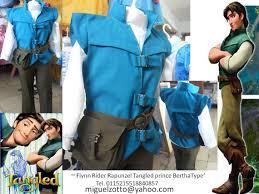 Flynn Rider Halloween Costume Flynn Rider Rapunzel Tangled Prince Charming Disney Halloween Gown