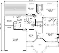 baby nursery front to back split house plans front to back split