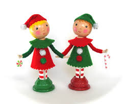 cotton candy dolls christmas clothespin dolls