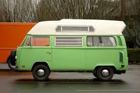 volkswagen minibus interior old parked cars 1973 volkswagen adventurewagen