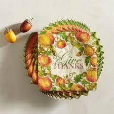 thanksgiving gold leaves orange napkins gold leaf paper napkins