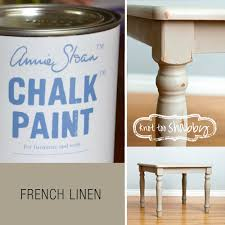 french linen chalk paint knot too shabby furnishings