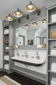 bathroom trough sink custom bathroom with cast iron trough sink by rafterhouse