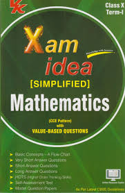 xam idea simplified mathematics term i class 10th 3 re 1st