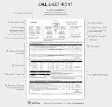 Calibration Spreadsheet Template Creating Professional Call Sheets Free Excel Template Download