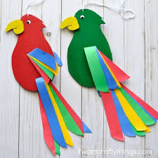 art and craft for kids best 20 parrot craft ideas on pinterest daycare crafts paper