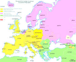 Language Map Of Europe show a map of europe evenakliyat biz