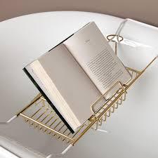 Bathtub Book Tray Bath U0026 Shower Spectacular Impressive Brown Wood Tray Bath Tub Caddy