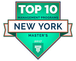 manhattanville u0027s m s in business leadership ranked top ten in new