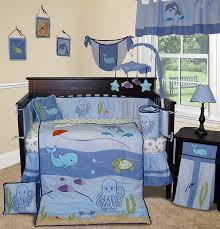 Baby Boys Crib Bedding by Amazon Com Sisi Baby Bedding Under The Sea 13 Pcs Boy Crib