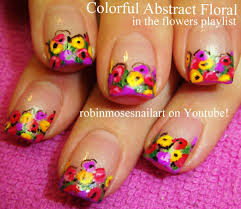 robin moses nail art rainbow nail art cutest rainbow nails