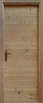 porte in legno massello easy porta per interni in legno massello di bio larice