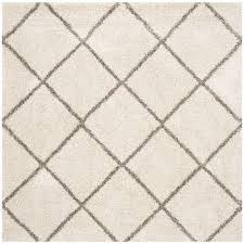 Square Area Rugs 7x7 Safavieh Hudson Shag Ivory Gray 7 Ft X 7 Ft Square Area Rug