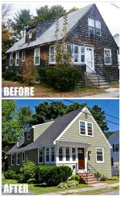 Gambrel Style House by Updating A 1930s Colonial Gambrel In Maine Before And After