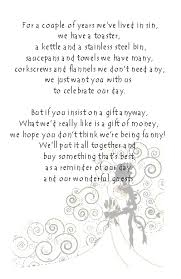 wedding gift quotes for money poems for wedding invites yourweek 465601eca25e