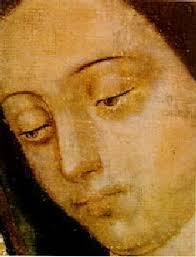 rostro de la Virgen