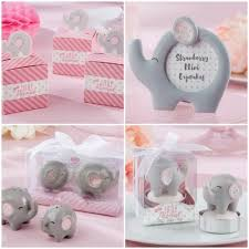 pink and grey elephant baby shower favors from hotref com baby