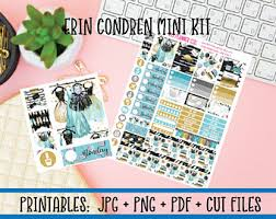 erin condren black friday sale hustle life planner stickers weekly printable for use