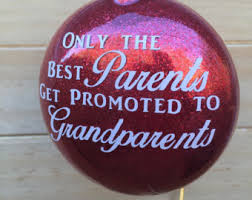 grandparent christmas ornaments grandchild ornament etsy