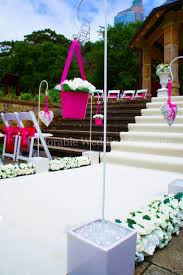 outdoor wedding aisle decorations by adorable wedding concepts