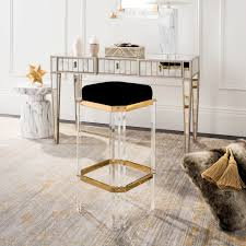 cicely acrylic bar stool safavieh