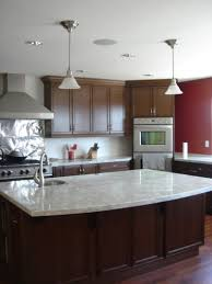 single pendant lighting over kitchen island attractive rectangle shape white kitchen island come with white