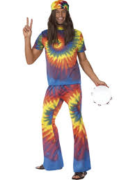 sgt pepper halloween costume tie dye groovy tie dye fancy dress costume 60s 70s mens