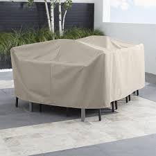 Rectangular Patio Furniture Covers Outdoor Patio Furniture Covers Crate And Barrel