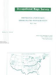 bureau de m hode bls 1303 66 1962 pdf employment salary