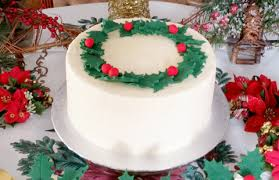 luxury handmade christmas cakes with free delivery in birmingham